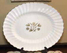 "Royal Doulton England Napier 16 3/4"" Turkey Platter"