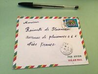 Republic Togolaise  to France Airmail stamps Cover Ref 51450