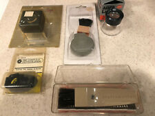 Vivitar Set Of Close-Up Lenses And Filters (3) 52Mm And Camera Accessories Lot