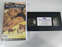 THE SHELTERING SKY EL CIELO PROTECTOR VHS V.O. ENGLISH SUBTITULOS CASTELLANO