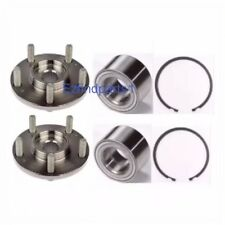 FRONT WHEEL HUB &BEARING W/SNAP RING FOR 2007-2013 JEEP PATRIOT 4 WHEEL ABS PAIR