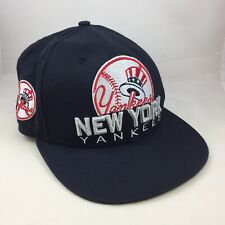 Men's New York Yankees Red Logo New Era Baseball Original SnapBack Hat Med/Large