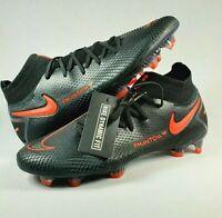 Nike Phantom GT Elite DF FG Black Red Soccer Cleats Men's Size 9 CW6589-060 NEW!
