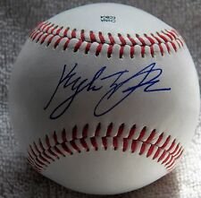Houston Astros Kyle Tucker Signed Official Midwest League Baseball Auto