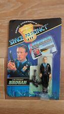 Vintage Gerry Andersons Space Precinct Brogan Action Figure & Gun 1994 MOC