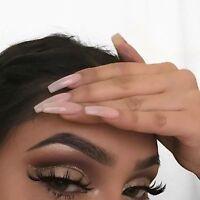 Sexy Black Pair Real Mink Hair Black Thick Long False Fake Eye Lashes Eyelashes