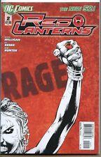 Red Lanterns 2011 series # 2 near mint comic book