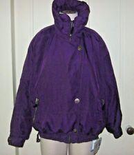 Vintage Obermeyer Kelly Winter Ski Snow Parka Jacket Asymmetrical Snap Womens 8