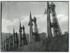 Rampe de lancement, 1957 Vintage silver print Tirage argentique  13x18  Ci