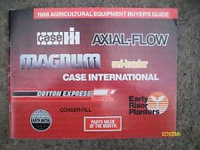 Original Vintage 1988 Agricultural Equipment Buyer's Guide Case IH Axial Flow