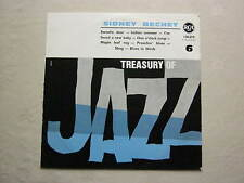 SIDNEY BECHET TREASURY OF JAZZ NO 6 FRENCH RCA 10 INCH LP 1950s