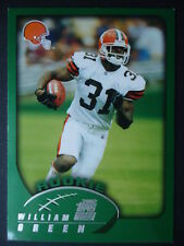 NFL 385 William Green Cleveland Browns Rookie Topps 2002
