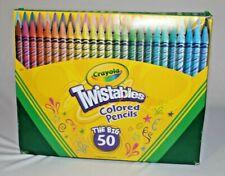 Crayola Twistables Colored Pencils The Big 50 New Open Box
