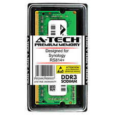 A-Tech 2GB DDR3 PC3-12800 1600 MHz SO-DIMM for Synology RS814+ NAS Memory RAM