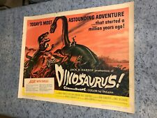 "Dinosaurus ! 1960 Original 1/2 Sheet Movie Poster 22"" x 28"" (F+) Ward Ramsey"