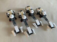 LEGO STAR WARS - 4 x white SPEEDER (75090) - lot - rare 4 speeders