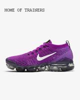 Nike Air VaporMax Flyknit 3 Vivid Purple Racer Girls Women's Trainers All Sizes