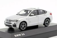 BMW X4 Silver, official dealer model scale 1:43, new car mens gift