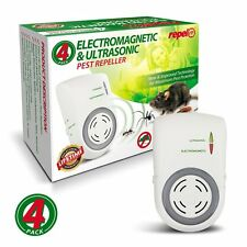 Full Coverage Ultrasonic Electronic Plug In - Pest Repeller Set of 4 Brand New