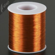 30 AWG Gauge Magnet Wire 3200' 200C Non-Solderable Enameled Copper Coil Winding