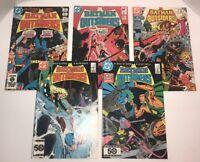 Batman and The Outsiders - Lot of 5 Comics - (DC Comics) Issues 1,4,5,25,27