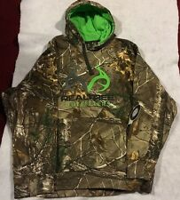 REALTREE OUTFITTERS XTRA CAMO MEN'S HOODIE CAMOUFLAGE PULLOVER ANTLERS M NWT