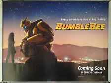 Cinema Poster: BUMBLEBEE 2018 (Advance Quad) Hailee Steinfeld John Cena