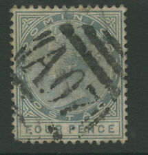 Dominica SG24 1886 4d grey Used P14