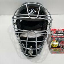 ProGear Force3  Hockey Style Catcher Mask V2 Adult Black Size 7-1/8 to 7-1/2 NEW