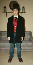 Frock Coat Costume Edwardian Victorian Dickens Old West mens M/ L womens 18W #2