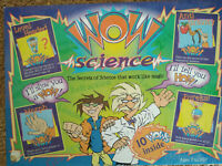Kids Science Kit. Ages 7+, 'Wow Science! Science that works like magic!'