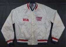 Rare Vintage CHALK LINE Seoul 1988 Olympic Games Coca Cola Satin Jacket 90s SZ L