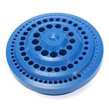 100Pc/Set Hole Drill Bit Storage Case Hard Plastic Round Shape Organizer Box~New