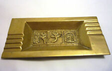 Modernist Ornaments Original Collectable Brass Metalware