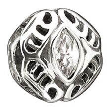 Authentic Chamilia Element Silver 'April Birthstone' Bead swarovski 2025-0664