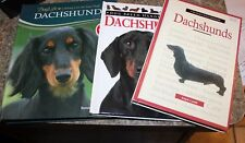 DACHSHUND DR BRUCE FOGLE COMPLETE HOW TO CARE plus 2 books lot