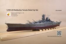 Very Fire Detail Up Set for 1/250 IJN Yamato(For Arii)