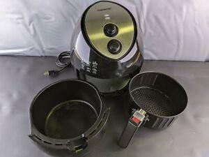 Farberware 3.2 Quart Oil-Less Electric Multi-Functional Air Fryer, Black