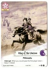 Legend of the Five Rings - L5R - Way of the Unicorn - Full Art