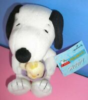 NWT Hallmark Snoopy /& Woodstock Plush HAPPINESS Is a HUG KNOWING SOMEONE CARES