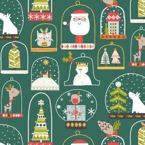 Fat Quarter Dashwood Studios Christmas Party 100% Cotton Fabric