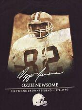 Ozzie Newsome Cleveland Browns NFL T-Shirt Football Legend Medium Helmet Reebok