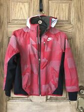 Nike Ski Jacket Coat, Youth M, REFLECTIVE and WATERPROOF Material.  SAFTEY!!!