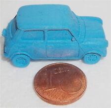 Mini Cooper Bleu Gomme à effacer Anniversaire Rover environ H0 1:87 Herpa Lj6