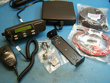 Motorola CDM1250 UHF 403-470MHz  40 Watt w/ Remote Head Mint Condition Tested
