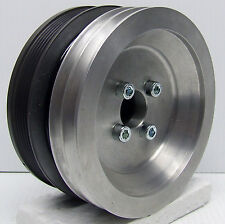 """PULLEY, VW ADG+ PATHFINDER-65MF OPTIONAL 6"""" DUAL 10MM BELT DRIVE WITH SPACER"""