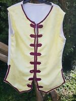 GEORGIAN STYLE MENS BROCADE WAISTCOAT FOR STAGE, RE-ENANCTMENT, LIVING HISTORY