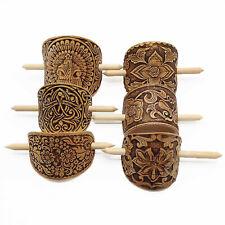 Holz Birkenrinde Haarspange Haarschmuck Haarklemme Schnalle Ökoprodukt Handmade