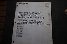 CATERPILLAR 621G 623G 627G 631G SCRAPER CONTROL SYSTEM ECS Service Manual repair