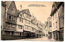 CPA 29 - MORLAIX (Finistère) - 2. Maisons du XVe siècle place St-Mathieu